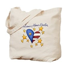 Welcome Home Sailor Tote Bag