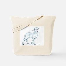 Little White Lamb Tote Bag