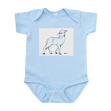 Little White Lamb Infant Bodysuit