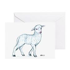 Little White Lamb Greeting Cards (Pk of 10)