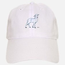 Little White Lamb Baseball Baseball Cap
