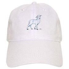 Little White Lamb Baseball Cap