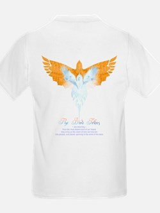 BirdTribes ShamanAngel Kids T-Shirt DblSided