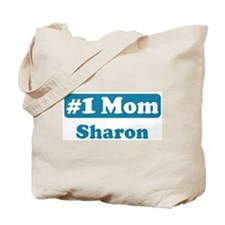 #1 Mom Sharron Tote Bag