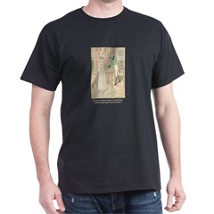 Jane Austen Persuasion Black T-Shirt