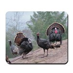 Wild Turkeys Mousepad