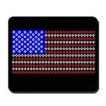 Dog Tracks Flag Mousepad