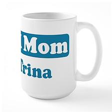 #1 Mom Trina Mug