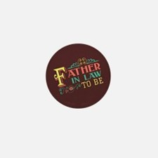 Pastel Father in Law Mini Button (10 pack)