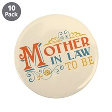 """Warm Mother in Law 3.5"""" Button (10 pack)"""