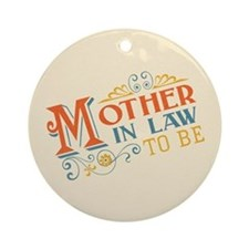 Warm Mother in Law Ornament (Round)