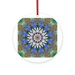 Blue Passion Flower I Ornament (Round)