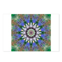 Blue Passion Flower I Postcards (Package of 8)