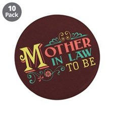 """Pastel Mother in Law 3.5"""" Button (10 pack)"""