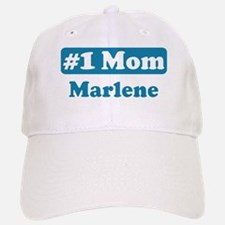#1 Mom Marlene Baseball Baseball Cap