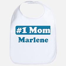 #1 Mom Marlene Bib