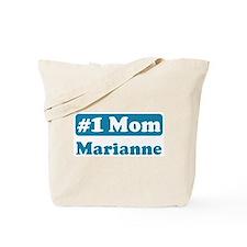 #1 Mom Marianne Tote Bag