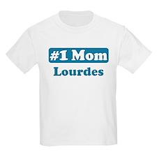 #1 Mom Lourdes T-Shirt