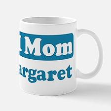 #1 Mom Margaret Mug