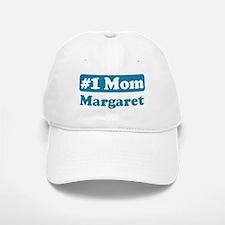 #1 Mom Margaret Baseball Baseball Cap
