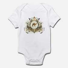 Stylish Camel Infant Bodysuit