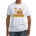 Funny Camel Fitted T-Shirt