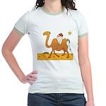 Funny Camel Jr. Ringer T-Shirt