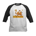 Funny Camel Kids Baseball Jersey