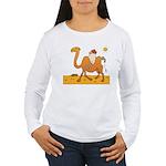 Funny Camel Women's Long Sleeve T-Shirt