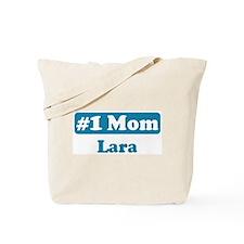 #1 Mom Lara Tote Bag