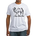 Camel Crest Fitted T-Shirt