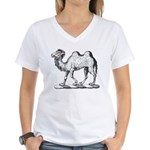 Camel Crest Women's V-Neck T-Shirt