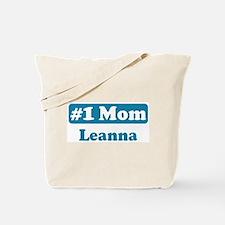 #1 Mom Leanna Tote Bag
