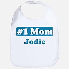 #1 Mom Jodie Bib