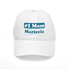#1 Mom Maricela Baseball Cap