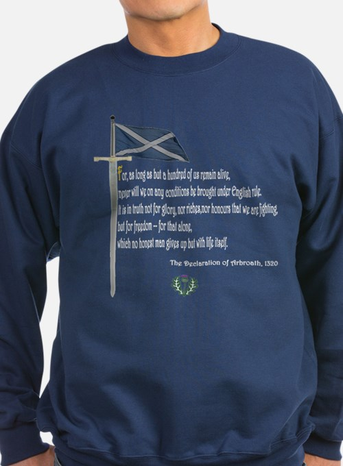 Declaration Of Arbroath Sweatshirt