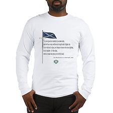 Declaration Of Arbroath Long Sleeve T-Shirt