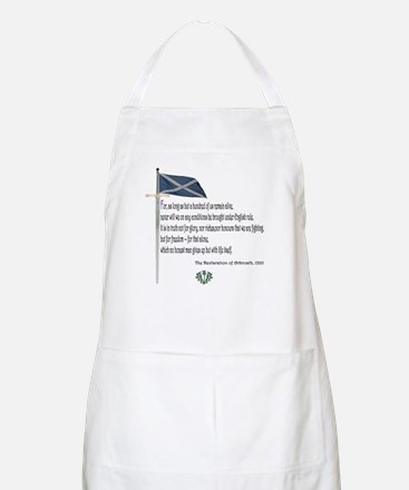 Declaration Of Arbroath BBQ Apron