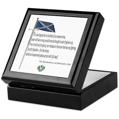Declaration Of Arbroath Keepsake Box
