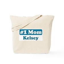 #1 Mom Kelsey Tote Bag