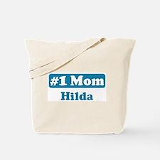 #1 Mom Hilda Tote Bag