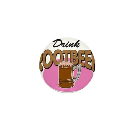 Drink RootBeer Mini Button (10 pack)