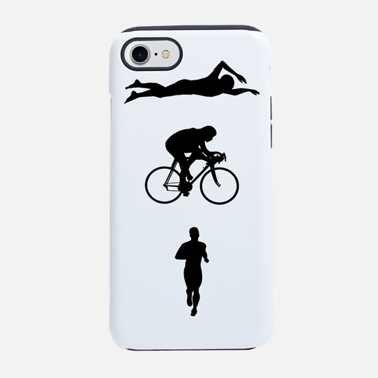 Triathletes Triathlon iPhone 7 Tough Case