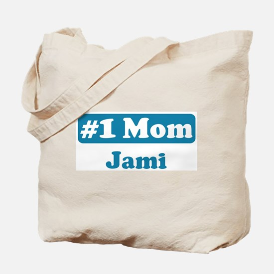 #1 Mom Jami Tote Bag