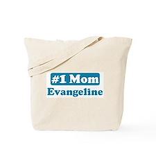 #1 Mom Evangeline Tote Bag