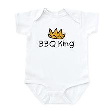 BBQ King Crown Infant Bodysuit