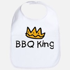 BBQ King Crown Bib
