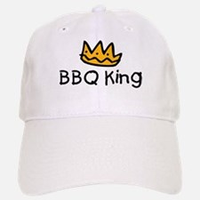 BBQ King Crown Baseball Baseball Cap