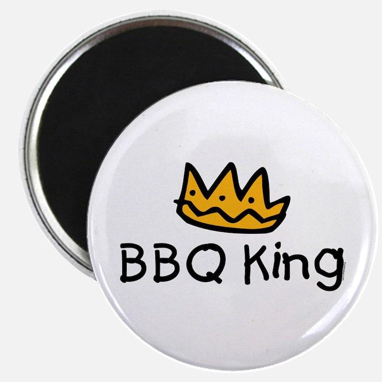 BBQ King Crown Magnet