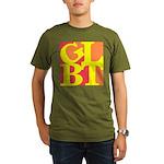 GLBT Hot Pop Organic Men's T-Shirt (dark)